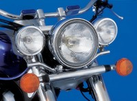 SPOTLIGHT BRACKET HONDA VT750/1100 ACE/AERO