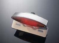 TECH GLIDE TAILLIGHT E-MARK + ALU BRACKET