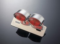DUAL MINI CATEYE LIGHT+ALU BRACKET