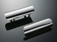 EXHAUST PIPE COVER CHROME 55MM