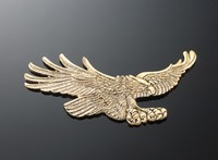 EMBLEM EAGLE BRASS S