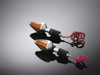 HANDLEBAR LIGHT 'DIAMOND' ( 2 PCS )