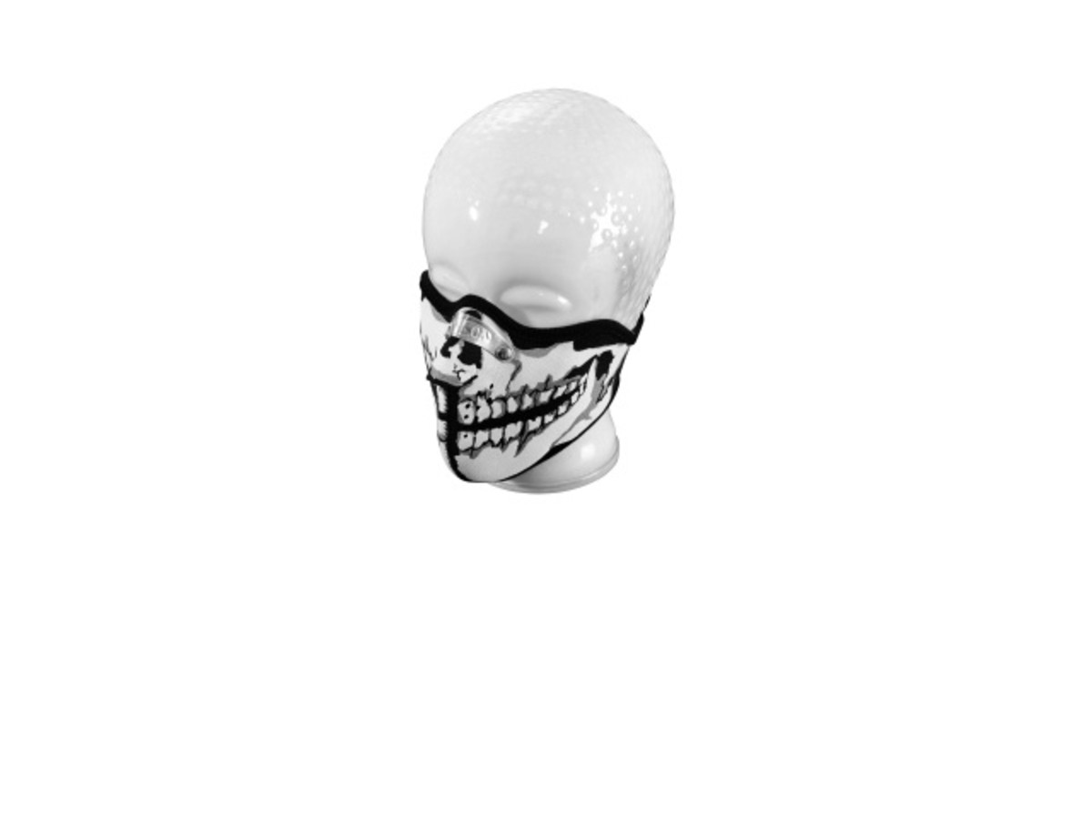HALF FACE MASK 'SKULL-MAN'