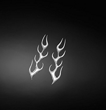 STICKER 3D FLAME SMALL L + R
