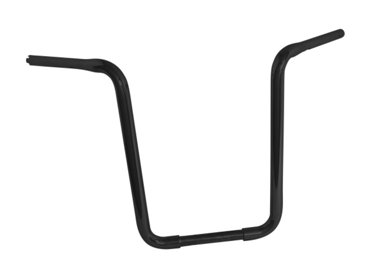 "HANDLEBAR 1""(25MM)""FAT APE HANGER"" BLACK"