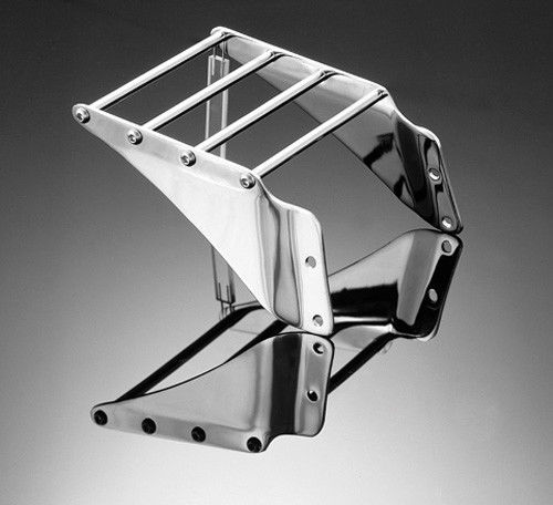 LUGGAGE CARRIER SMALL TECH GLIDE CHROME