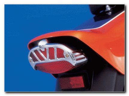 TAILLIGHT COVER TECHGLIDE YAMAHA XVS 650