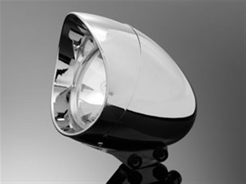 HEADLIGHT VISOR CHROME ABS