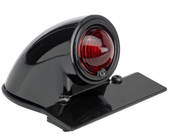 "TAILLIGHT """"SPARTO""""BLACK E-MARK"