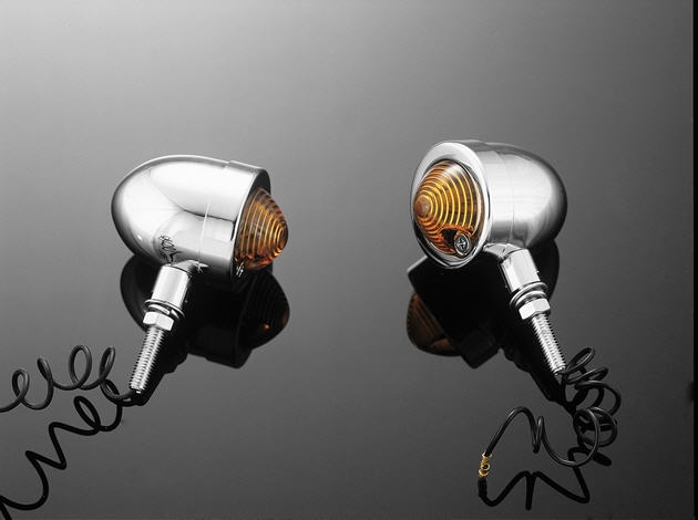 BULLETLIGHT TURNSIGNAL AMBER SMALL 2 PCS
