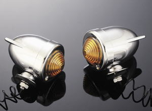"BULLETLIGHT SET ""WING"" TURNSIGNAL AMBER 2 PCS"