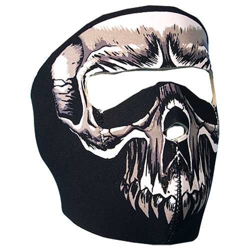 FULL FACE MASK EVIL SKULL