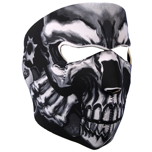 FULL FACE MASK ASSASSIN SKULL