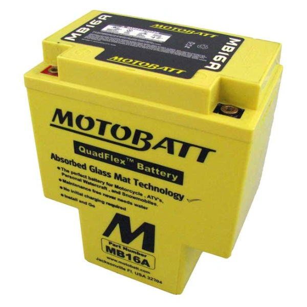MOTOBATT BATTERY MB16A / HYB16A-AB