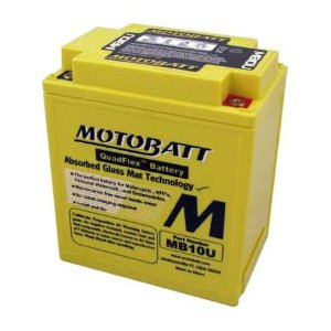 MOTOBATT BATTERY MB10U