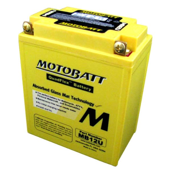 MOTOBATT BATTERY MB12U