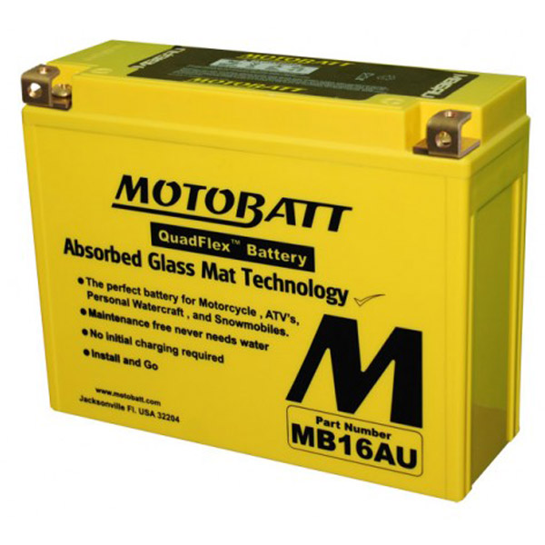 MOTOBATT BATTERY MB16AU