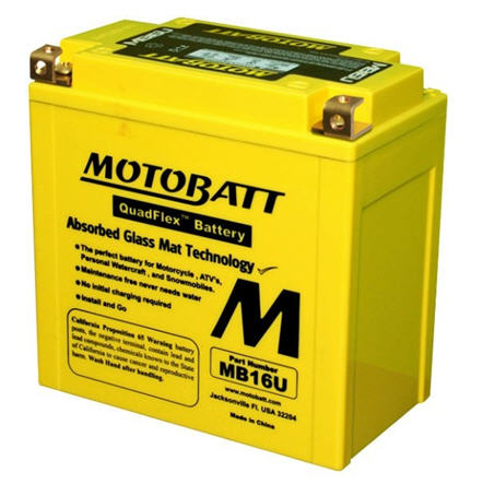 MOTOBATT BATTERY MB16U