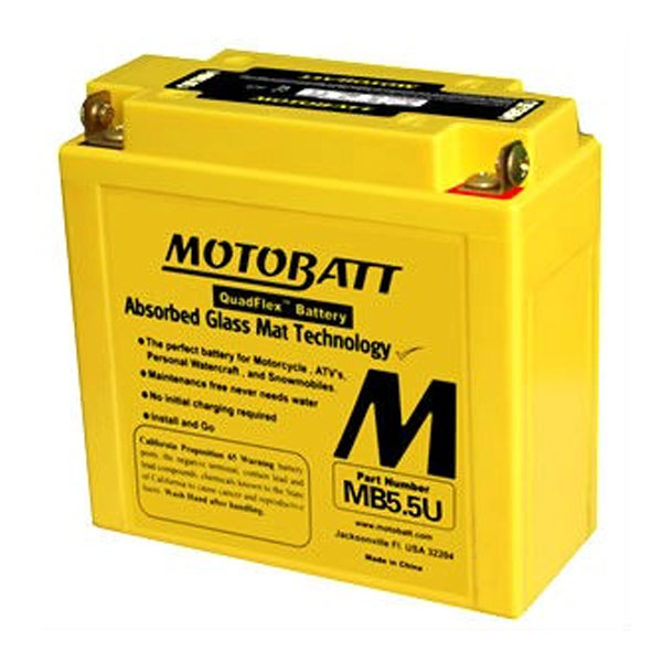 MOTOBATT BATTERY MB5.5U