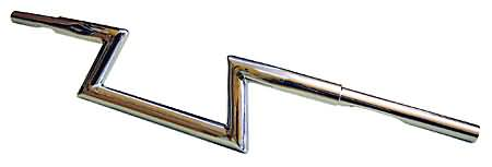 FEHLING-Z HANDLEBAR LOW, CHROME, 1 1/4 INCH, H12CM