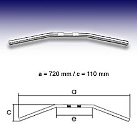 FEHLING DRAG BAR SMALL, 7/8 INCH, B:72CM