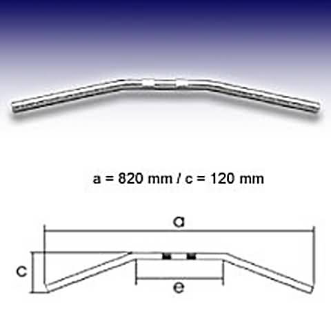 FEHLING DRAG BAR MEDIUM, 7/8 INCH, 82CM