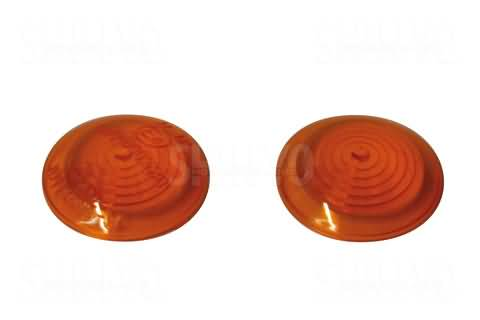 SHIN YO LENS FOR BULLS-EYE, AMBER, FRONT LENS, PAIR