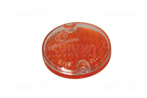 SHIN YO LENS FOR ARIZONA WINKER, AMBER/TRANSPARENT, PAIR