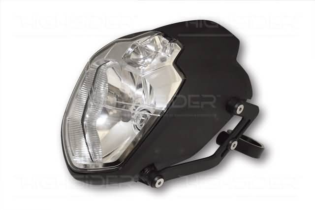HIGHSIDER UB1 HEADLIGHT SET FOR 49+50+52+54 MM DIAMETER