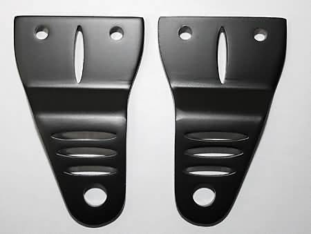 SHIN YO ALU HEADLIGHT BRACKET, BLACK
