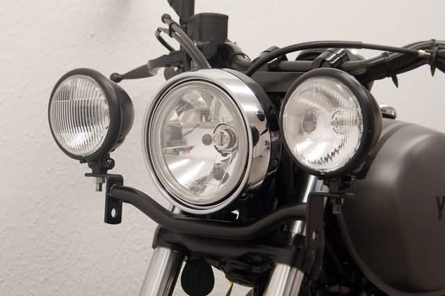 FEHLING SPOTLIGHT BRACKET, BLACK, YAMAHA XV 950 R 2014-