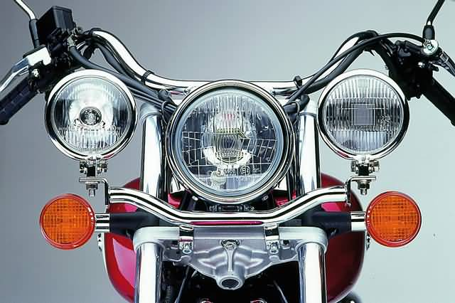 FEHLING SPOTLIGHT BRACKET HONDA VT 125 SHADOW