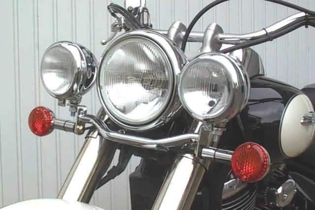 FEHLING SPOTLIGHT BRACKET SUZUKI VL 800 LC VOLUSIA