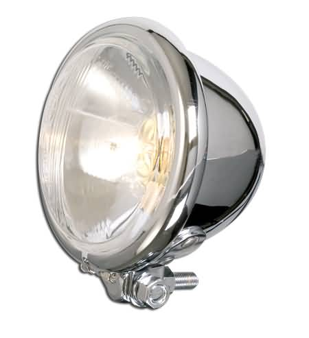SHIN YO 4 1/2 INCH HEADLAMP WITH BILUX-BULB, BATES-STYLE