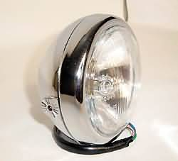 SHIN YO 4 1/2 INCH HEADLAMP, CHROME