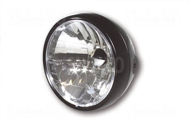 SHIN YO 6-1/2 INCH CLEAR LENS MAIN HEADLAMP SIDE MOUNT