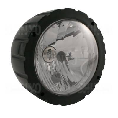 SHIN YO ABS HEADLIGHT GROOVED, BLACK