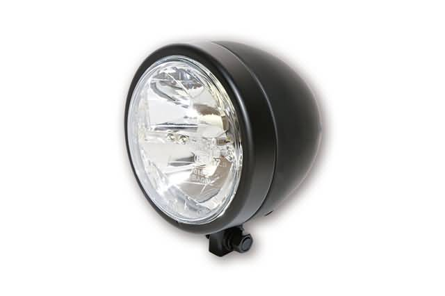 HIGHSIDER 130 MM LED MAIN HEADLIGHT MIAMI, BLACK