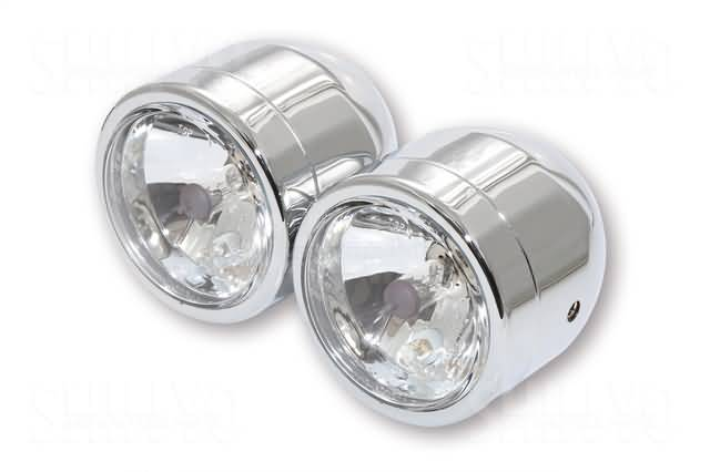 TWIN HEADLIGHT CHROME 2 x H4 55/60W