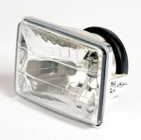 SQUARE HEADLIGHT RIGHT DRIVING INSERT