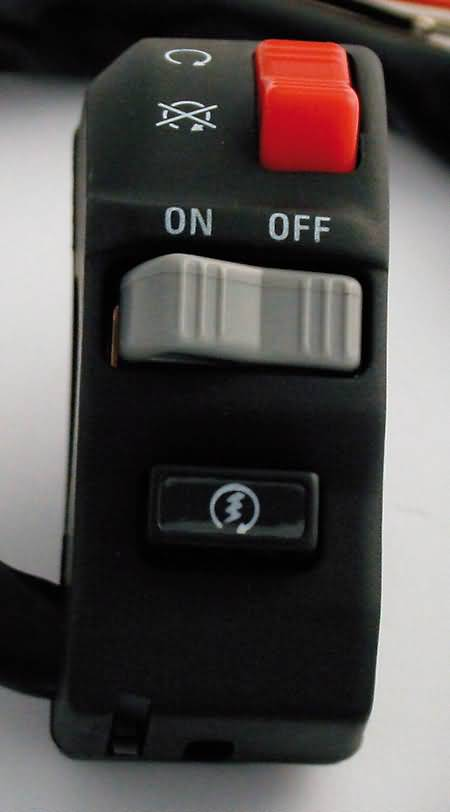 HANDLE-BAR SWITCH ATV, RIGHT SIDE