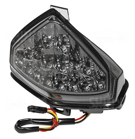 SHIN YO LED-TAILLIGHT HONDA CB1000R, 08-, E-MARK