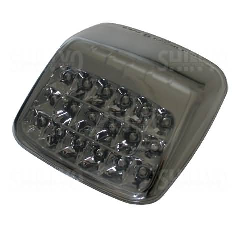 SHIN YO LED-TAILLIGHT HARLEY DAVIDSON V-ROD 02-08, E-MARK