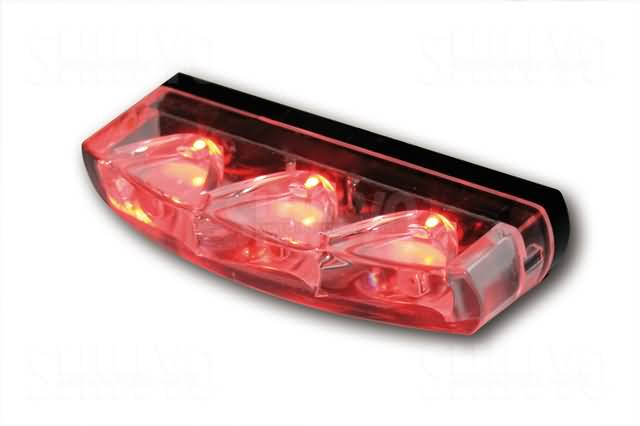 SHIN YO LED TAIL LIGHT CRYSTAL, CLEAR GLASS