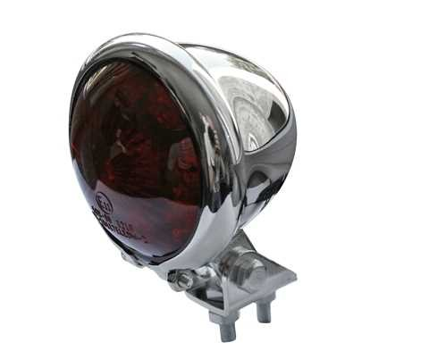 LED TAILLIGHT BATES CHROME