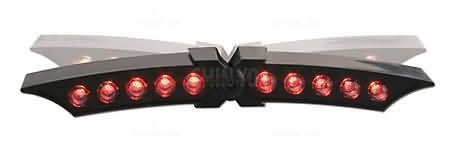 LED TAILLIGHT X-WING BLACK