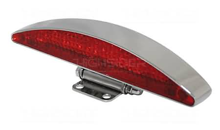 LED TAILLIGHT INTERSTATE CHROME