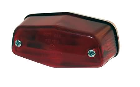 LUCAS TAILLIGHT, SMALL, WITHOUT BRACKET