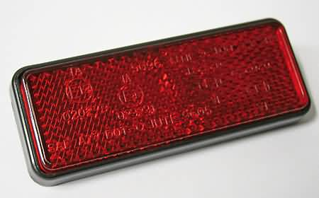REFLECTOR, 91,5 X 36 MM, E-MARKED