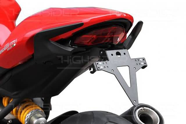 HIGHSIDER LICENSE PLATE BRACKET FOR DUCATI MONSTER 1200, 14-